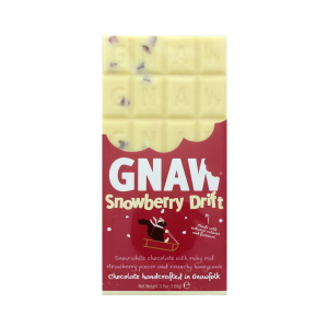 Gnaw Snowberry Drift White Chocolate Bar