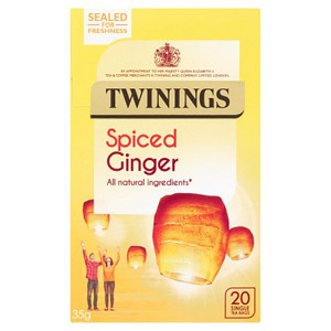 Twinings Spiced Ginger Teabags 20 Pack