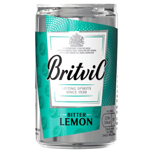 Britvic Bitter Lemon Small Can