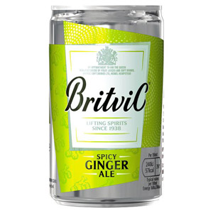 Britvic Ginger Ale Small Can