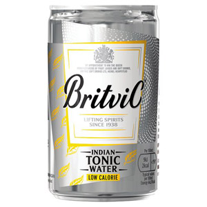 Britvic Low Calorie Tonic Water Small Can