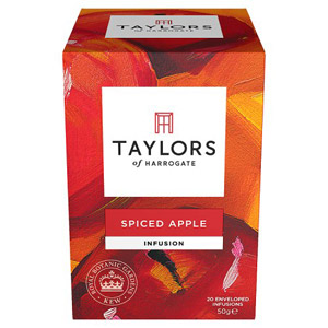 Taylors Spiced Apple Teabags 20 Pack