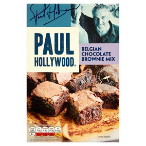 Paul Hollywood Luxury Belgian Choc Brownie Mix