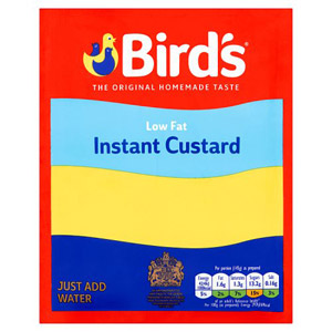 Birds Instant Low Fat Custard Sachet