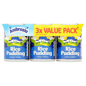 Ambrosia Rice Pudding 3 Pack