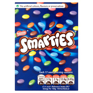 Nestle Smarties Carton