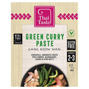 Thai Taste Green Curry Paste Sachet