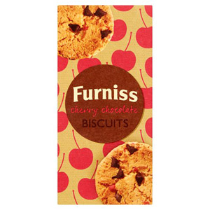 Furniss Cherry Chocolate Biscuits