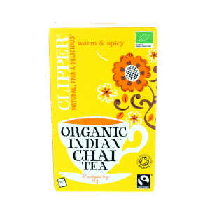 Clipper Organic Indian Chai 20 Tea Bags