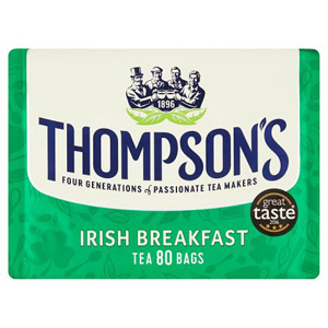 Thompsons Irish Breakfast Tea 80 Pack