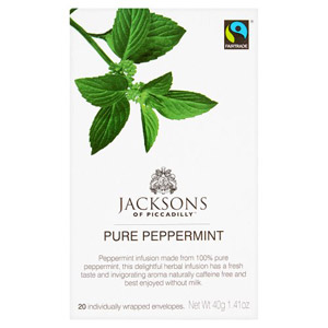Jacksons Pure Peppermint Tea 20s