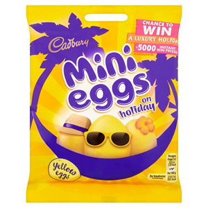 Cadbury Mini Eggs On Holiday