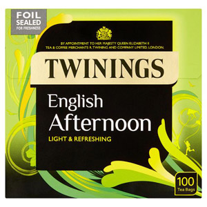 Twinings English Afternoon Tea 100 Pack