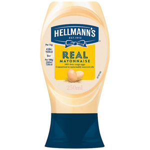 Hellmanns Real Squeezy Mayonnaise