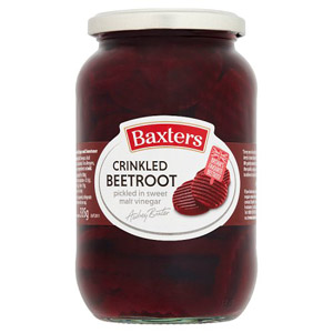 Baxters Crinkled  Beetroot Large