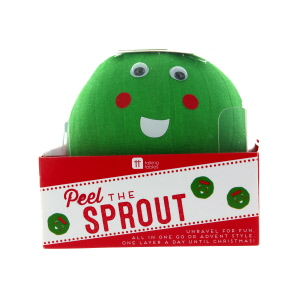 Peel The Sprout Christmas Novelty