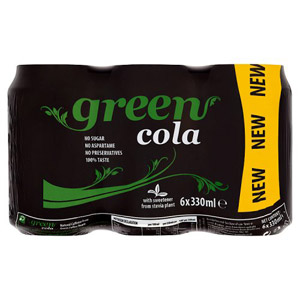 Green Cola 6 Pack