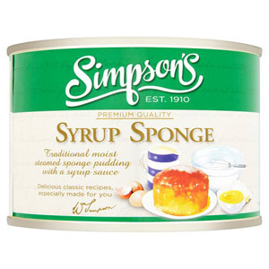Simpsons Sponge Pudding Syrup