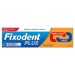 Fixodent Plus Dual Protection Denture Adhesive Cream