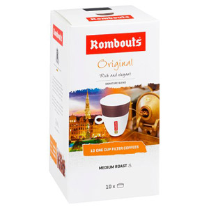 Rombouts Original Medium Roast One Cup Filter Coffee
