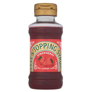 Lyles Strawberry Squeezy Dessert Syrup