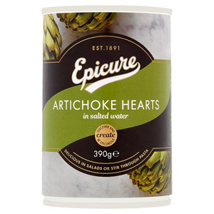 Epicure Artichoke Hearts in Salted Water