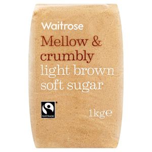Waitrose Mellow & Crumbly Light Brown Soft Sugar
