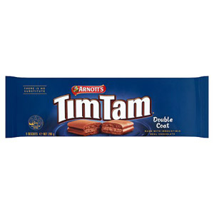 Arnotts Tim Tam Double Coated Biscuits