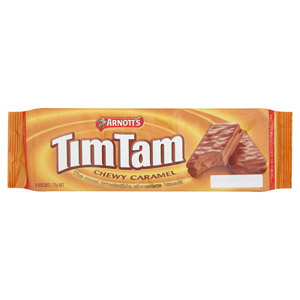 Arnotts Tim Tam Chewy Caramel Biscuits