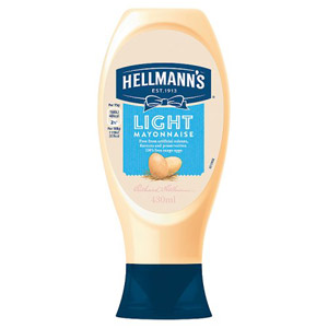 Hellmanns Light Mayonnaise Squeezy