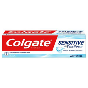 Colgate Sensitive with Sensifoam Toothpaste