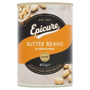 Epicure Butter Beans in Salted Water
