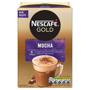 Nescafe Gold Mocha Coffee 8 Per Pack