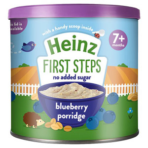 Heinz Blueberry Oaty Porridge Tub