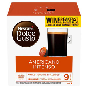 Nescafe Dolce Gusto Grand Intenso Pods 16 Per Pack
