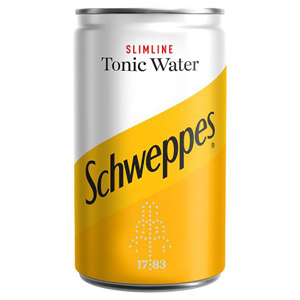 Schweppes Slimline Indian Tonic Water Mini Can