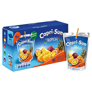 Capri Sun Tropical 10 Pack