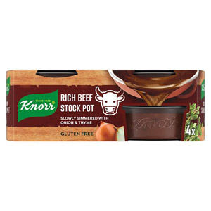 Knorr Rich Beef Stock Pot 4 Pack