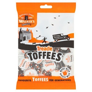Walkers Nonsuch Treacle Toffee Bag