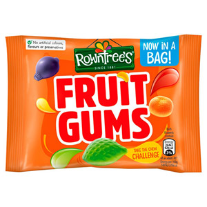 Rowntrees Fruit Gums Roll 36 x 49g