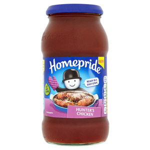 Homepride Jar Hunters Chicken Sauce