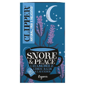 Clipper Snore & Peace Organic Tea Bags 20s