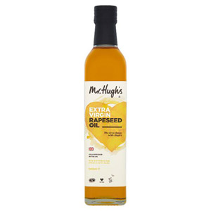 Mr Hugh's Cold Pressed Rapeseed Oil