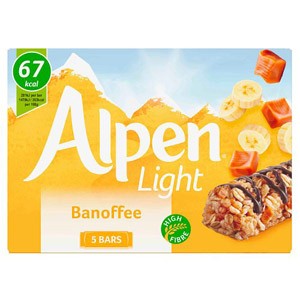 Alpen Light Banoffee Bar 5 Pack