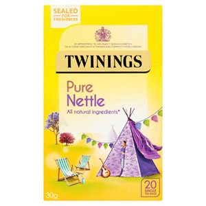Twinings peppermint and nettle tea