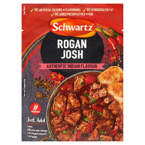 Schwartz Rogan Josh Recipe Mix