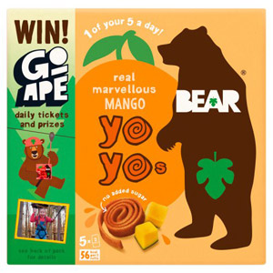 Bear Fruit Yoyo's Mango 5 Pack